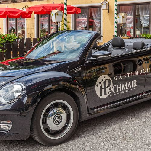 Unser Leihauto: New VW Beetle Cabriolet
