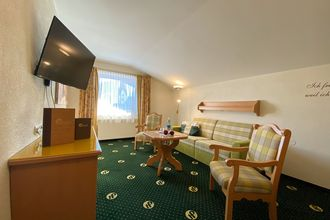 Die geräumigen Appartements Hochfügen sorgen für einen komfortablen Aufenthalt im Hotel Pachmair.