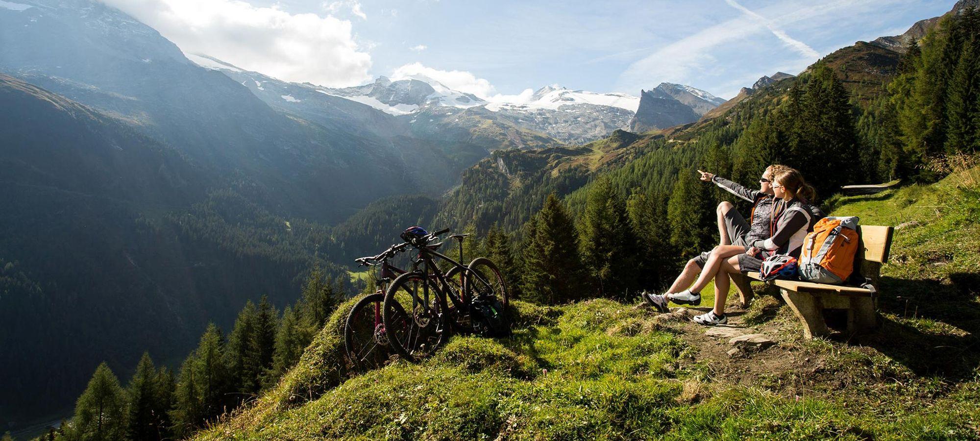 Zahlreiche Routen im Zillertal lassen jedes Bikerherz höher schlagen.