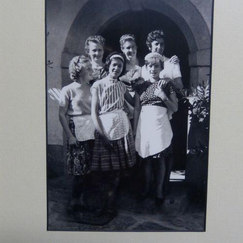 1963: Die Pachmair-Wirtin mit ihrem Personal