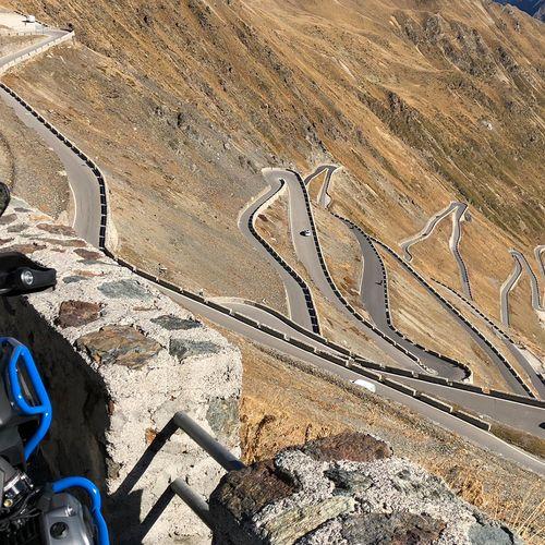 Auch das Stilfserjoch ist ideal für eine Motorrad-Tour mit unserer BMW GS