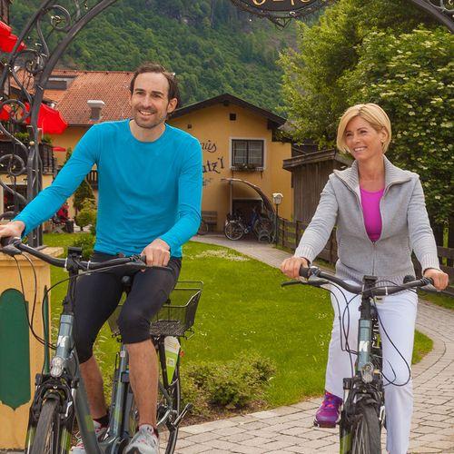Ausfahrt mit unseren Leih-Fahrrädern