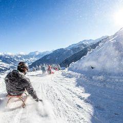 Rodelspaß am Spieljoch im Tiroler Zillertal (c) Andi Frank