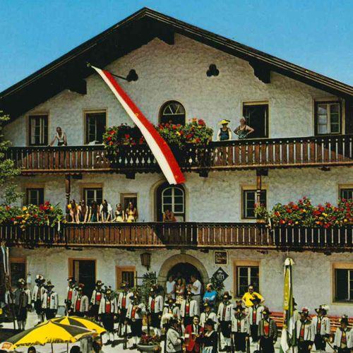 1972 Postkartenmotiv: Gasthof Pachmair