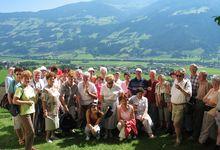 Unser Wanderführer nimmt unsere Gäste mit auf eine stimmungsvolle Ortswanderung.