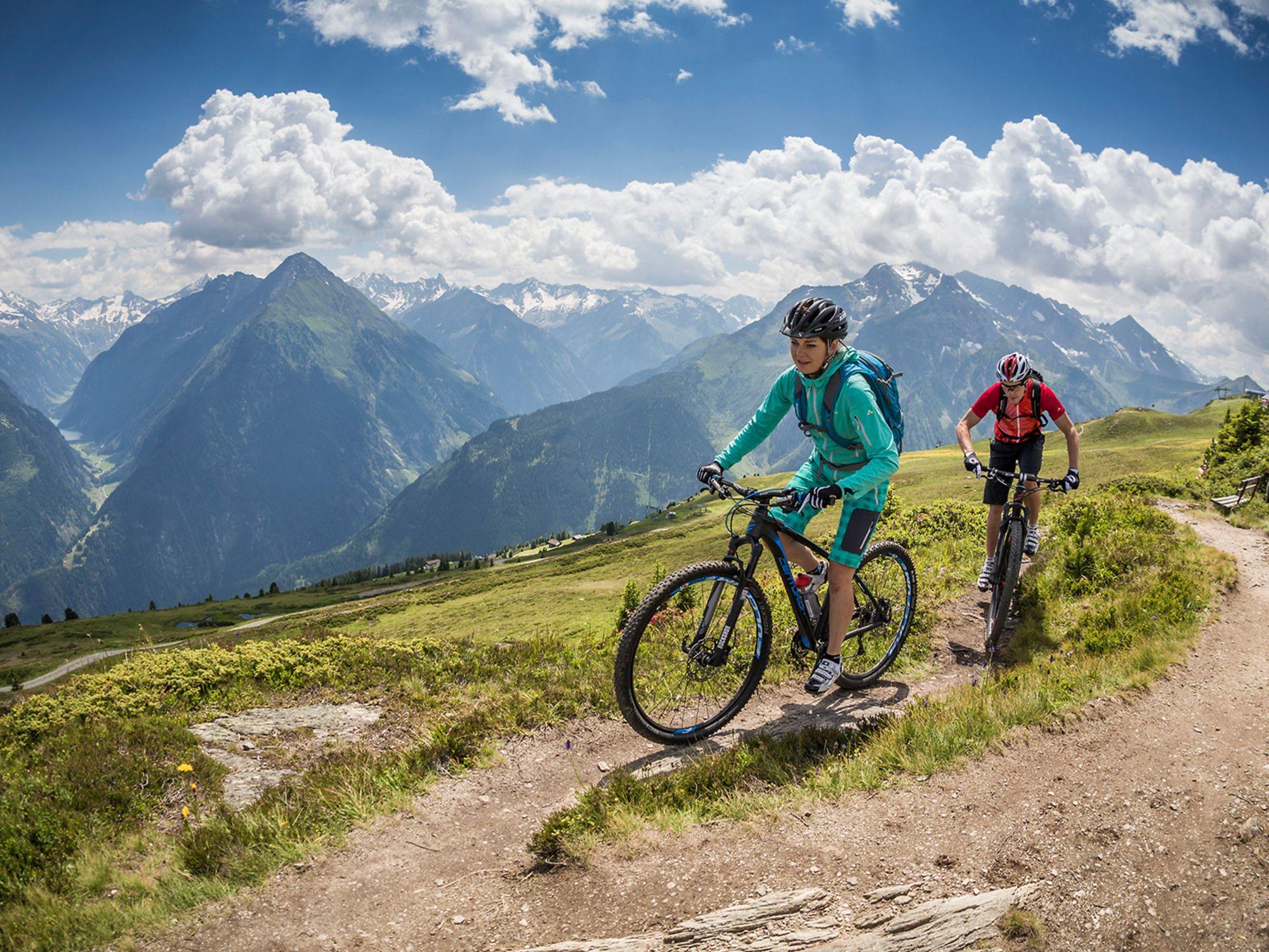Mountainbiken am Berg - was gibt es Schöneres?
