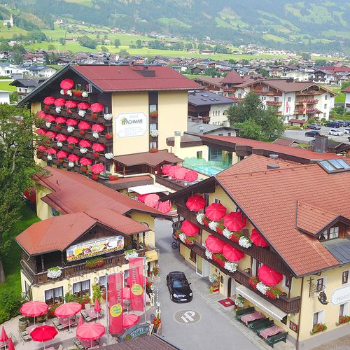 2017: Luftaufnahme vom 4* Hotel Pachmair