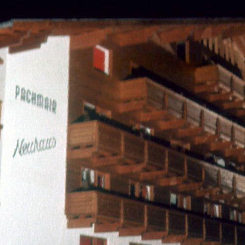 1973: Das Neuhaus des Hotel Pachmair