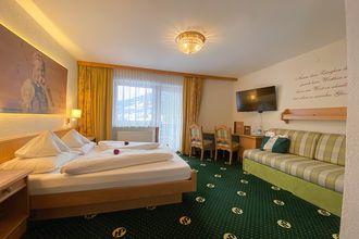 Die komfortablen Familienzimmer Hochzillertal sorgen für einen angenehmen Aufenthalt im Hotel Pachmair.