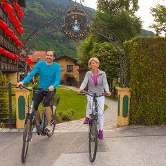 Unseren Gästen stehen Citybikes und E-Bikes zum Ausleihen zur Verfügung.