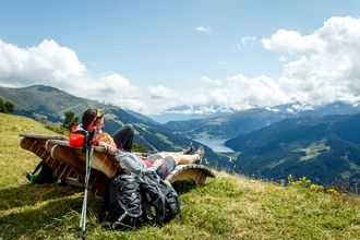 Die Berge im Zillertal bieten stets einen unvergleichlichen Panoramablick.